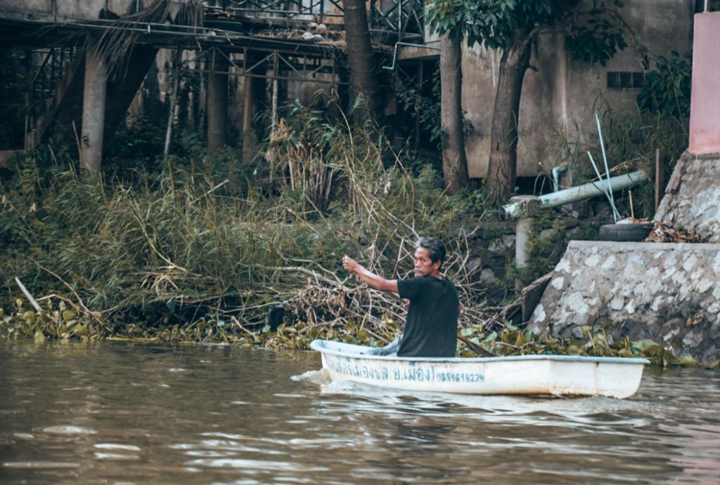 Escursione in barca Ayutthaya