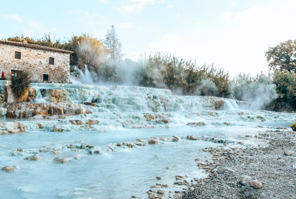Le cascate del mulino di Saturnia