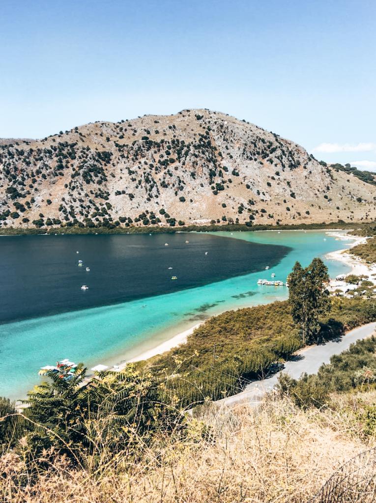 Lago Kournas Creta
