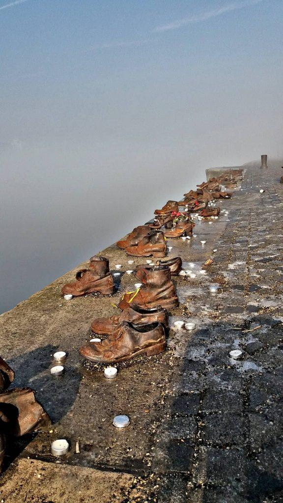 budapest memoriale delle scarpe