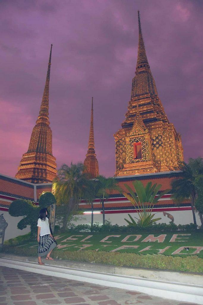 Tempio del Buddha Sdraiato a Bangkok