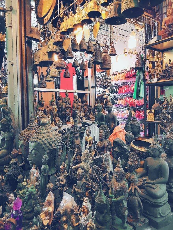Chatuchak Market di Bangkok
