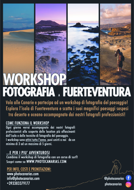 Workshop Photo Canarias