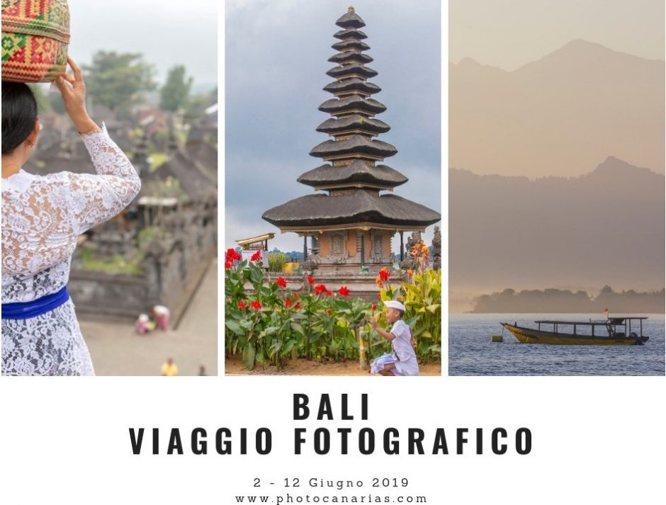 Workshop fotografico Bali Photo Canarias