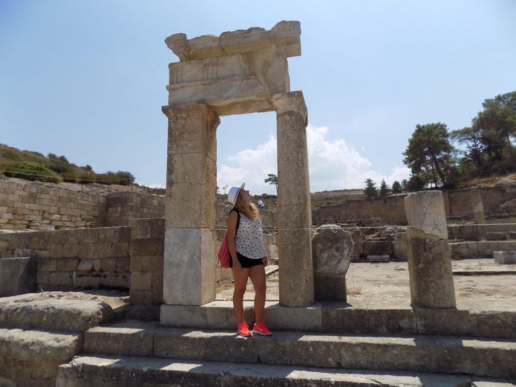 Blogger in Viaggio Rodi - Wanderlustviola