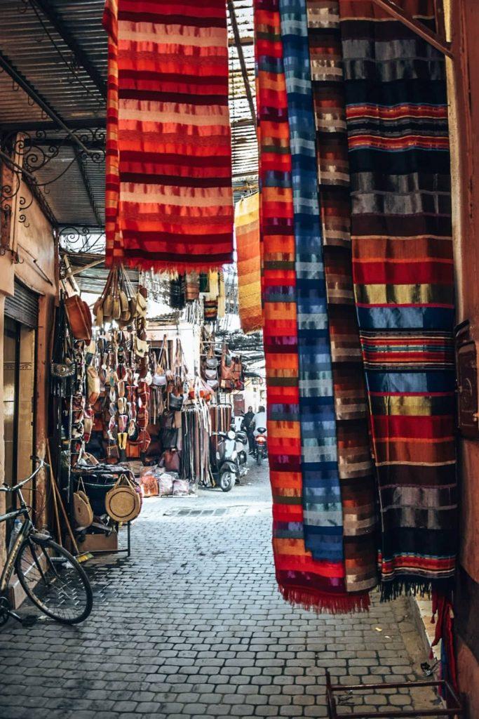 Streets in Marrakech