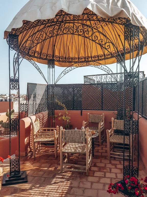 Dormire in un riad in Marocco - Riad Itrane