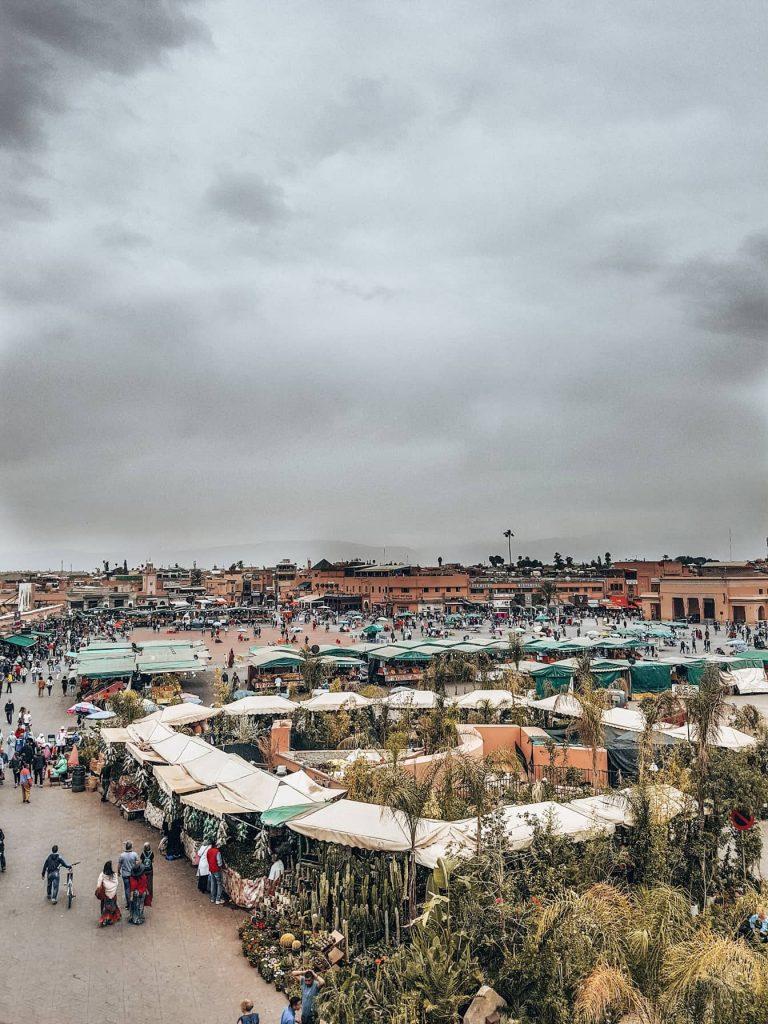 Jamaa El Fna a Marrakech