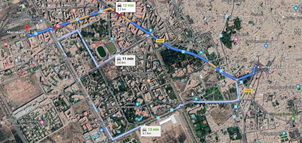 Come raggiungere Fès da Marrakech