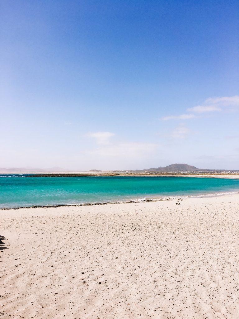 Playa de la Concha Isla de Lobos Fuerteventura