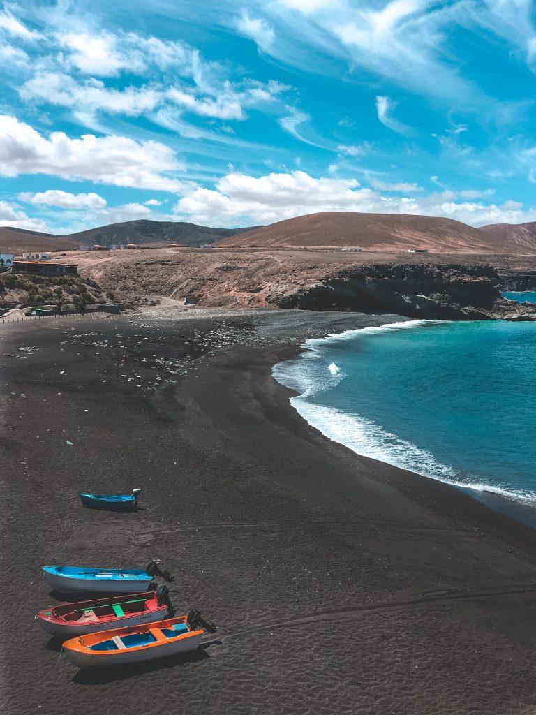 Fuerteventura Ajuy Spiaggia Nera