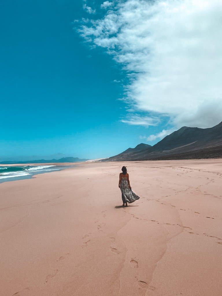 spiaggia di Cofete Fuerteventura