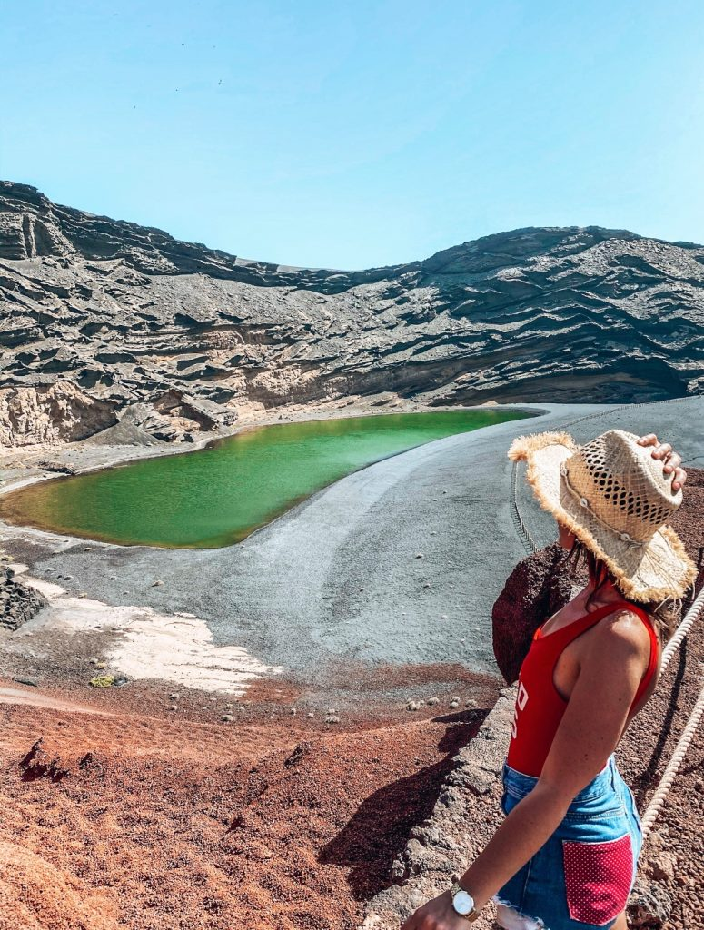 Lago Verde Lanzarote Charco de los Clicos