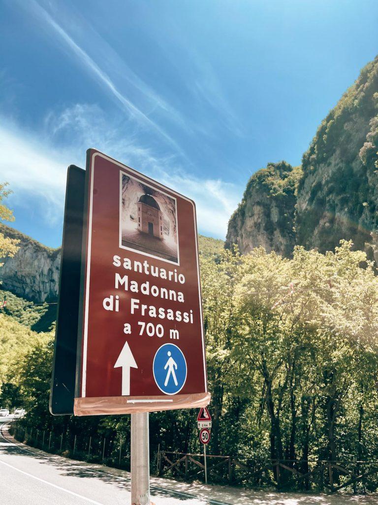 Sentiero Santa Maria di Frasassi