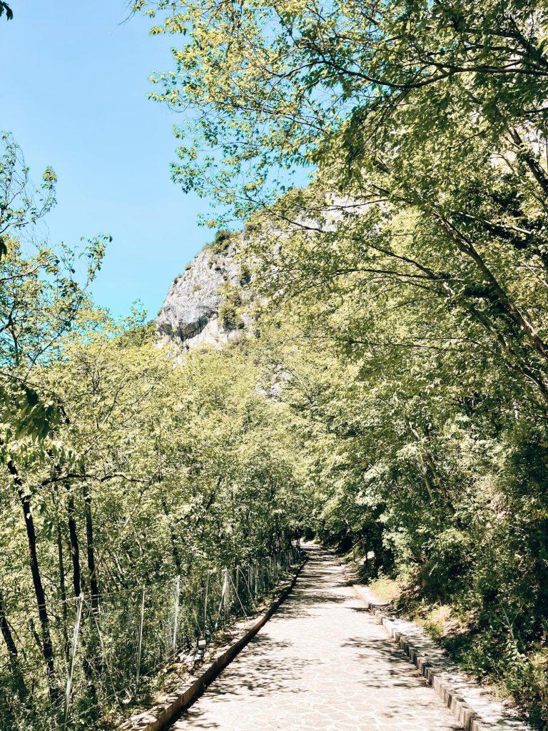 Sentiero Tempio di Valadier