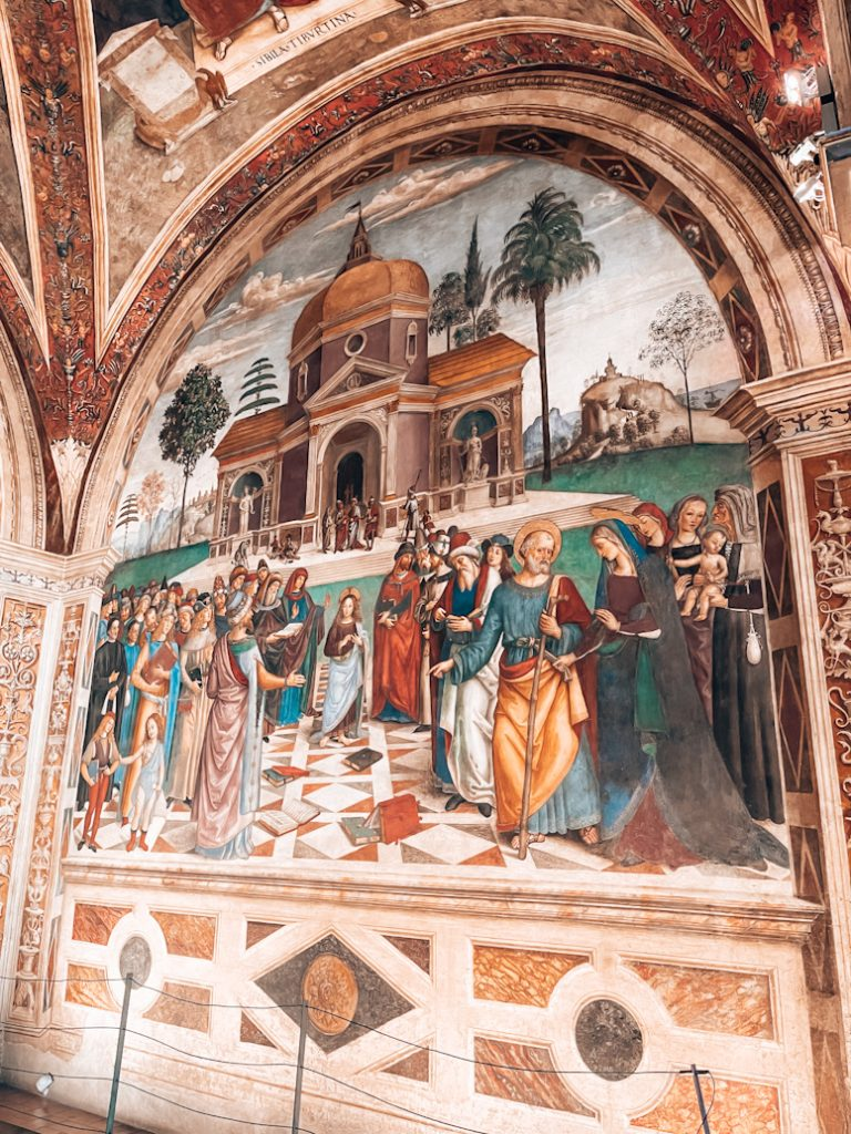 Cappella Baglioni Pinturicchio