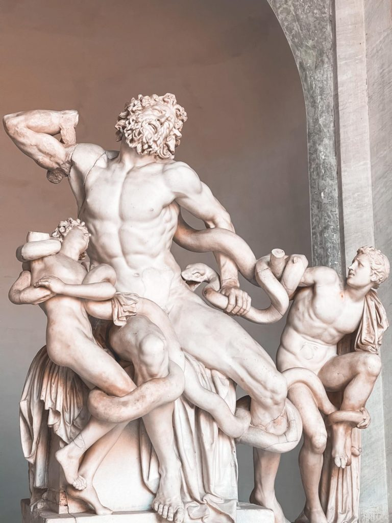 Gruppo Laocoonte Musei Vaticani