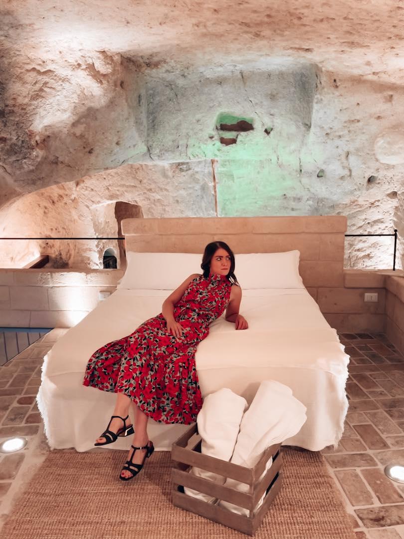 Dormire nei Sassi di Matera Grotta Gea
